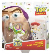 Disney Pixar Toy Story Twin Pack Buddies Spanish Buzz Lightyear & Jessie